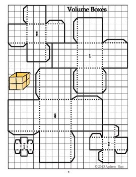 Paper Volume Cubes: Understanding Volume Through Paper