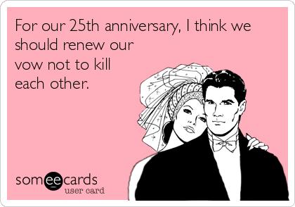 ecards 25th anniversary