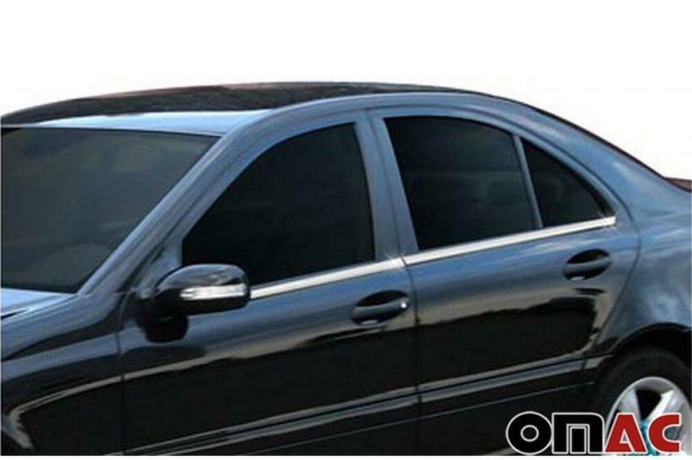 Mercedes Benz C Klasse W203 Chrom Zierleisten 3m Fensterrahmen Tuning Leisten Car Door Chairs Repurposed Suv