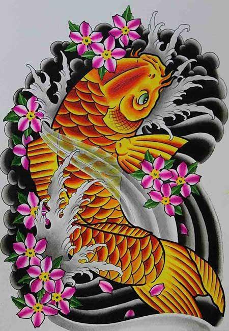 50 Fotos de Tatuagens de Carpas (Imagens e Desenhos ...