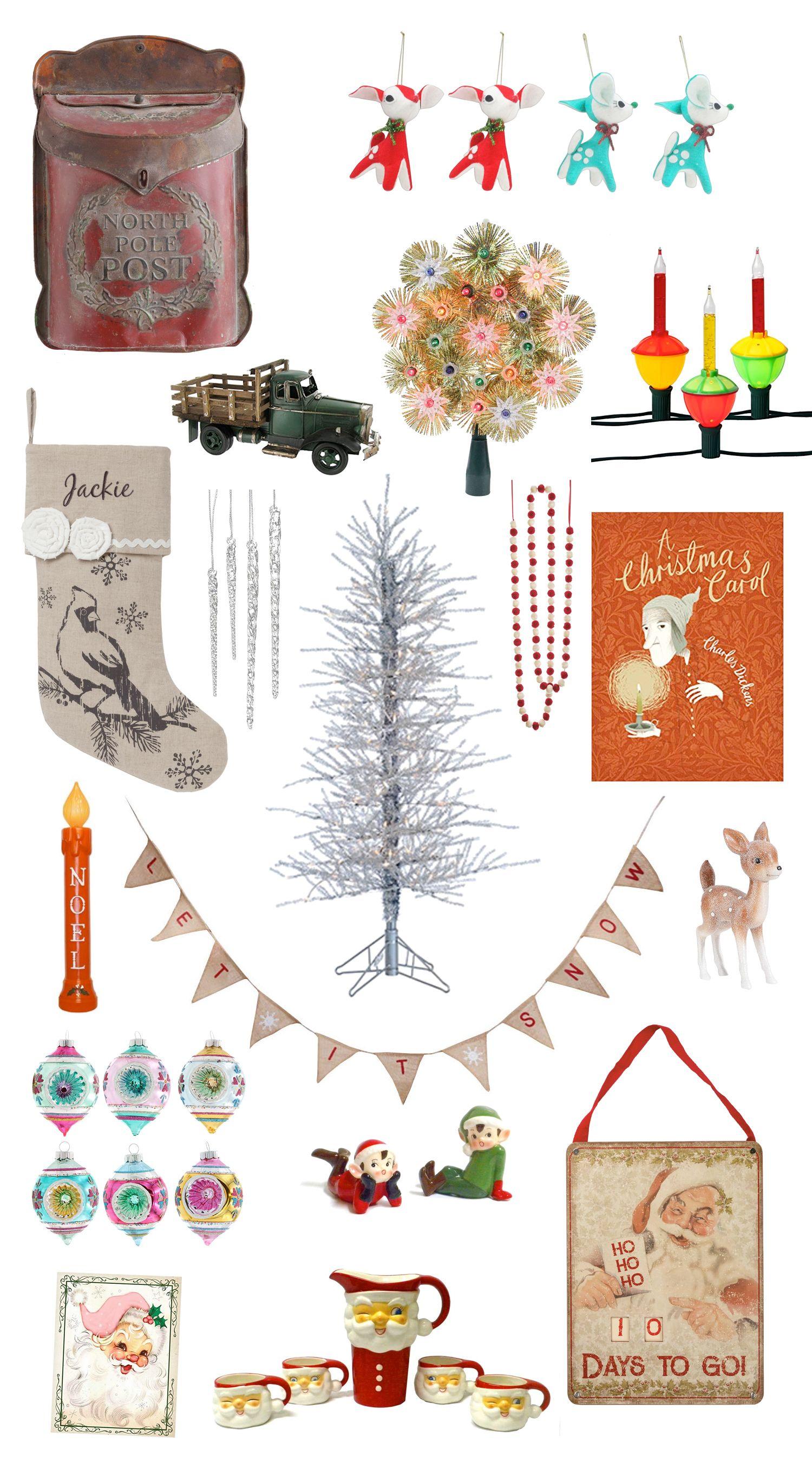 Vintage Christmas Decorations Vintage Christmas Decorations Vintage Style Christmas Decorations Christmas Decorations
