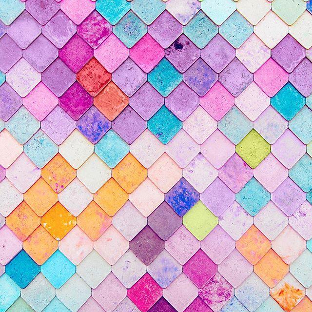 Mattcrump Found A Neon Fish Scale Wall 🍭🐠 Candyminimal