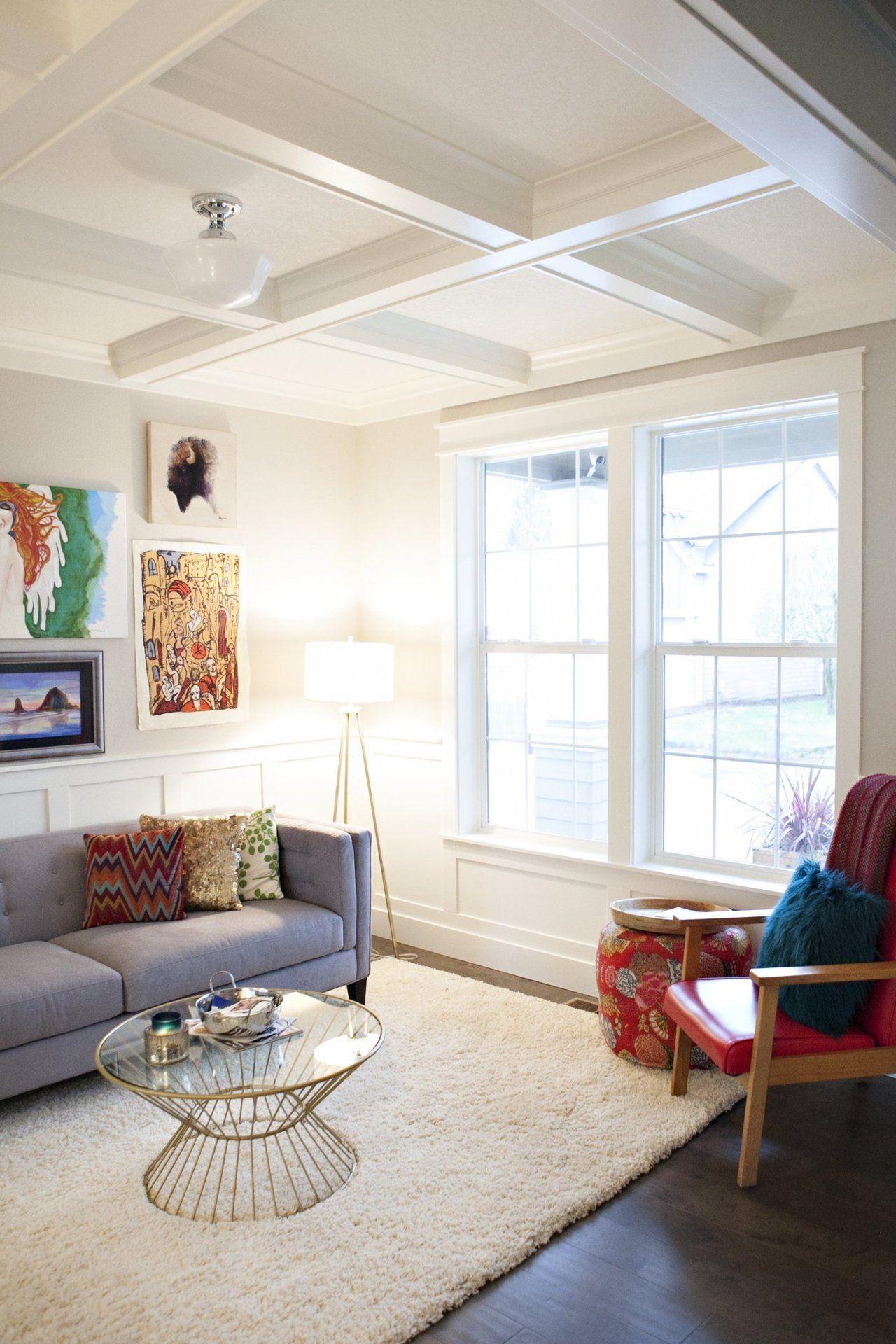 House Tour: A Rustic & Modern Portland Family Home   Rustic modern ...
