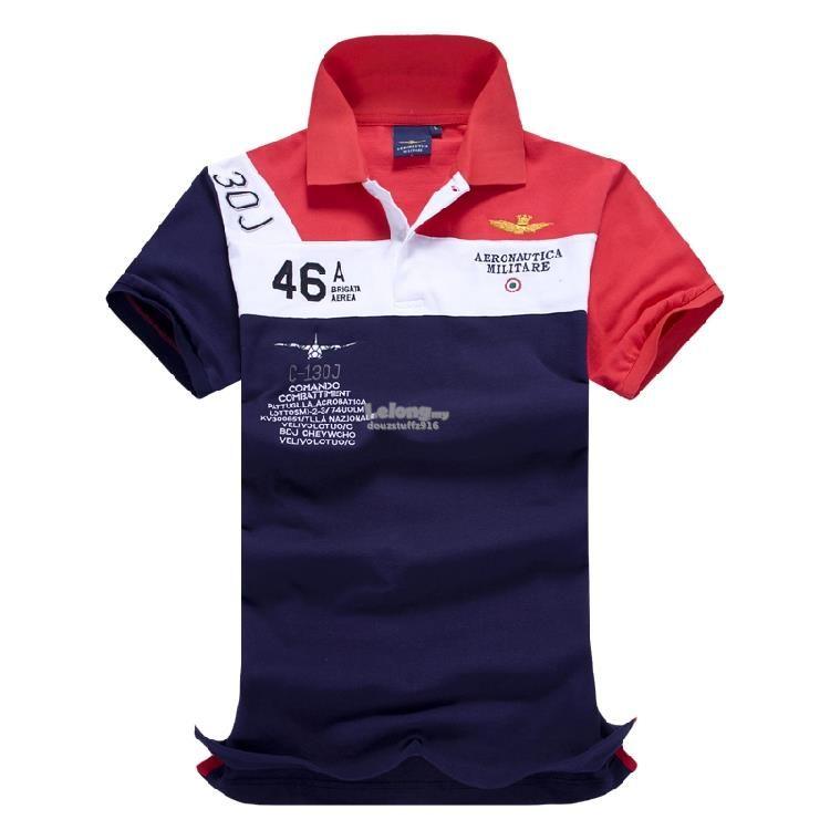 Aeronautica Militare Air Force 30J Italy 46A Comando Men POLO T-shirt. Polo Pour  HommesArmée ...