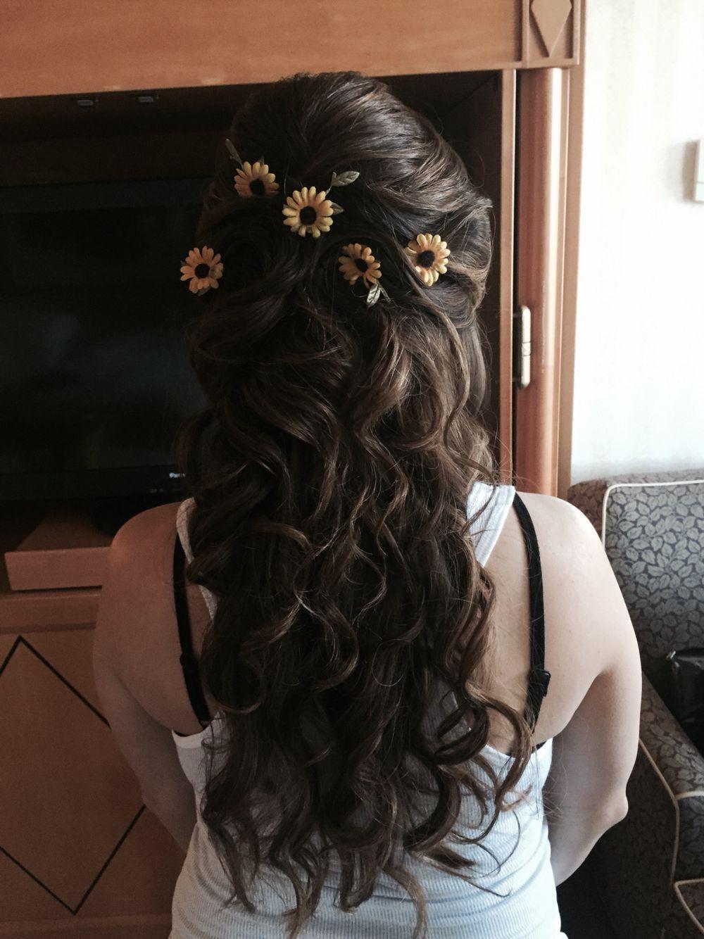 Beautiful Bridal Half Updo At Salon Be Tahoesalonbe Hair By