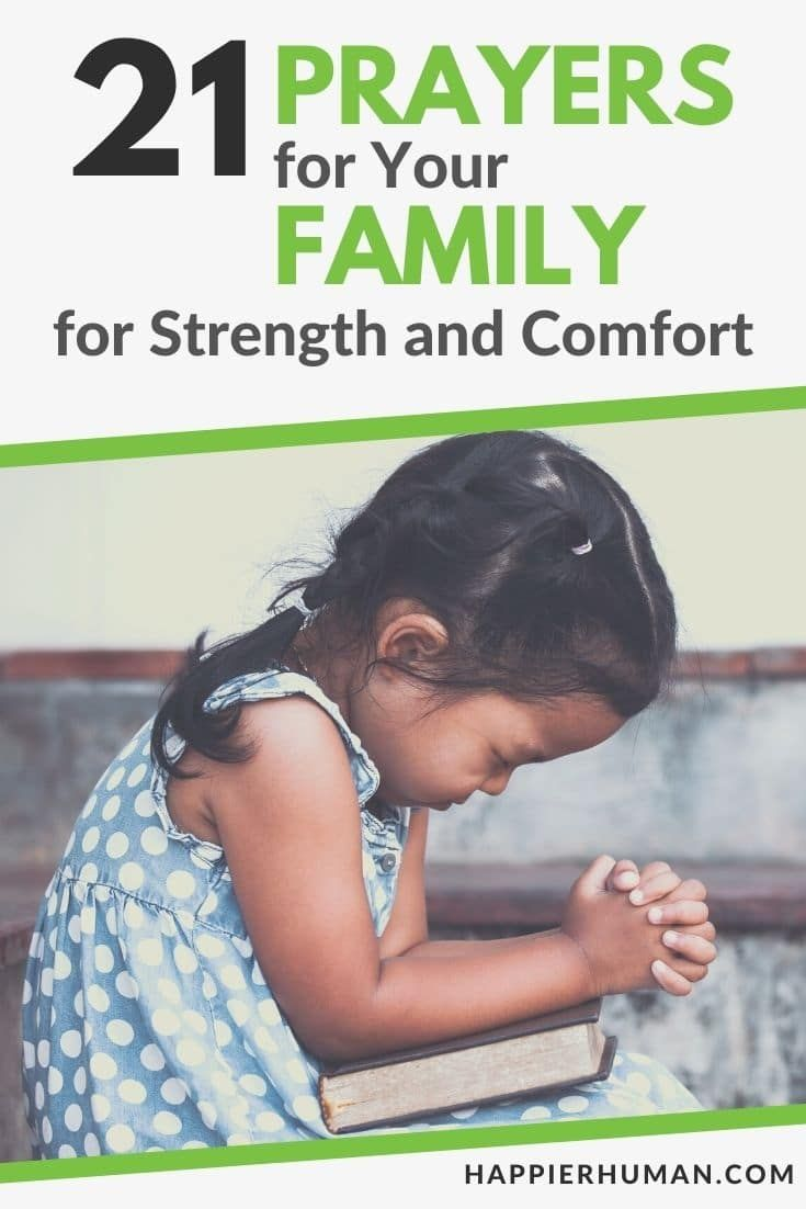 21 Prayers for Your Family for Strength and Comfort