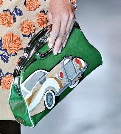 Fashion Week Handbags  Prada Spring 2012 - PurseBlog  Pradahandbags ... 45830b6480