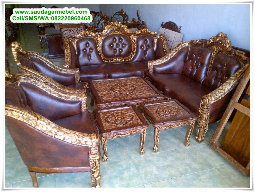 Kursi Sofa Ganesha Royal Sofa Furniture Ganesha