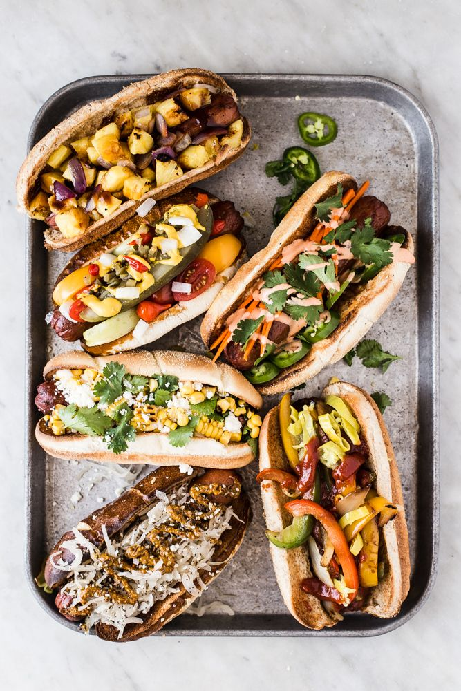 Hot Dog Toppings Hot Dog Recipes Hot Dog Toppings Gourmet Hot Dogs