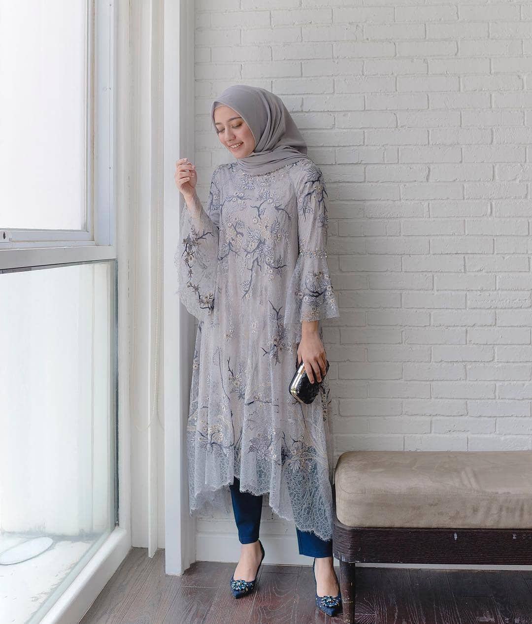 rayaaa  Muslim fashion dress, Muslim fashion hijab, Kebaya modern