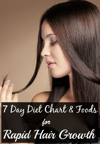 7 Day Diet Chart \ Foods To Eat For Rapid Hair Growth Diet chart - diet chart