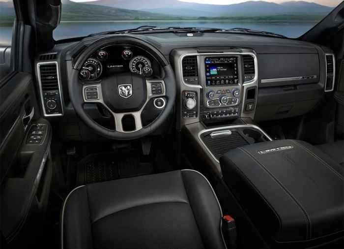 Novo 2019 Dodge Ram Captador Para Todos Os Gostos Preco Consumo Interior E Ficha Tecnica Dodge Ram Auto