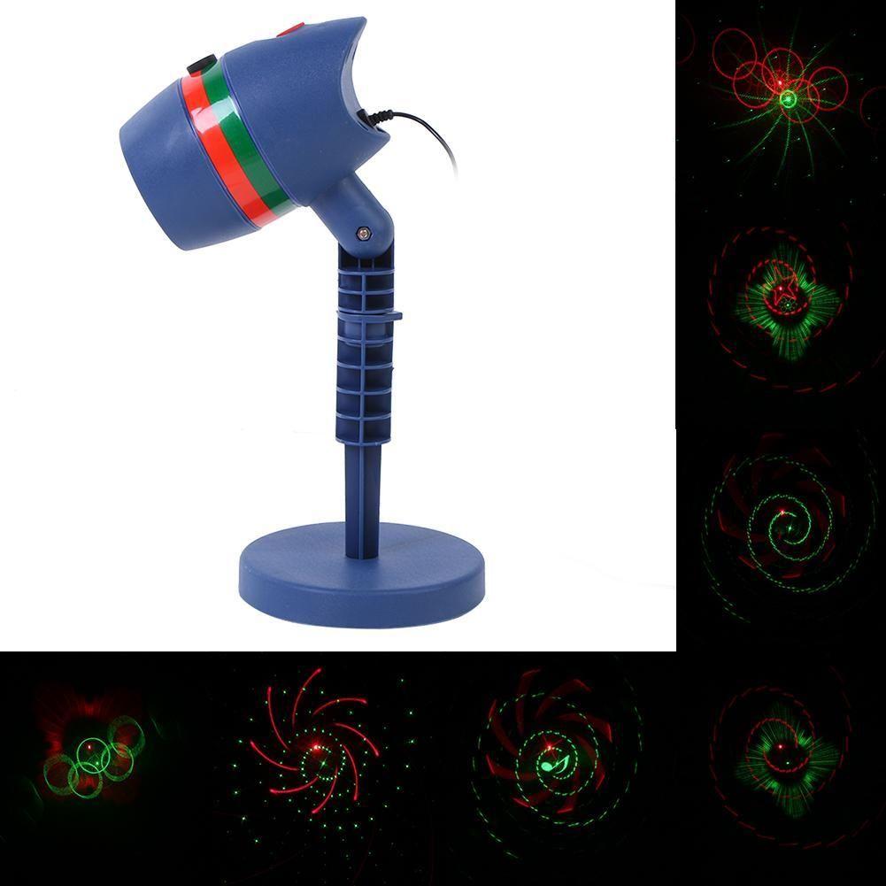 Decolighting Star Laser Christmas Light Show Outdoor Decorations ...