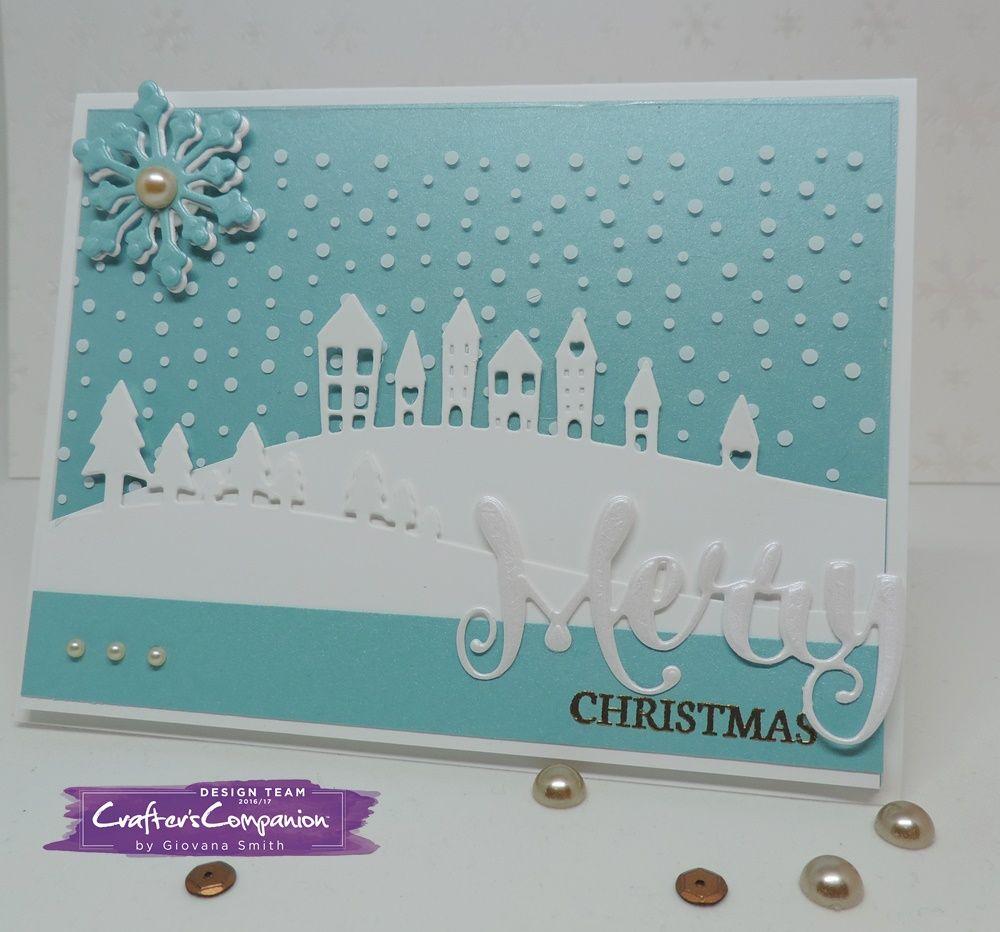 Contemporary Merry Christmas Card   Christmas Cards   Pinterest ...