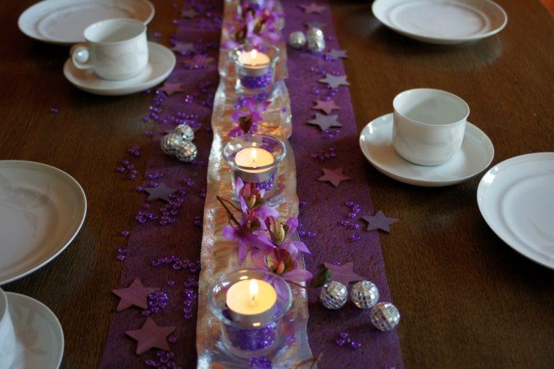 Tischdeko weihnachten silber blau  Tischdeko Weihnachten bunte Weihnachtszwerge | Tischdeko ...