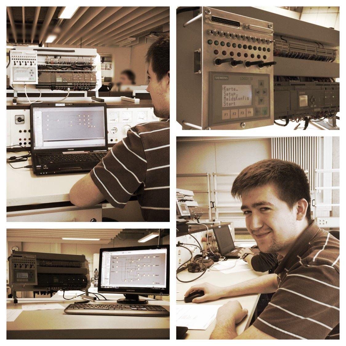 Programmieren mit der Siemens Logo im 3. Ausbildungsjahr