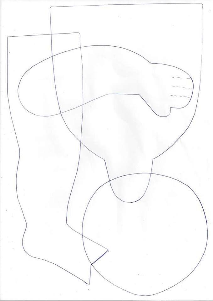 Patrón de muñeca pelirroja de tela | Muñecas | Pinterest | Patrones ...