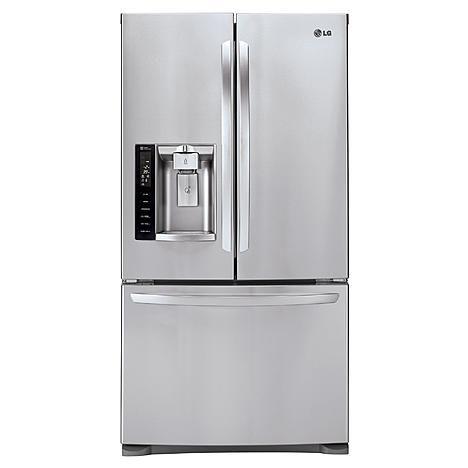 Lg Lfx28968st 268 Cu Ft French Door Bottom Freezer Refrigerator