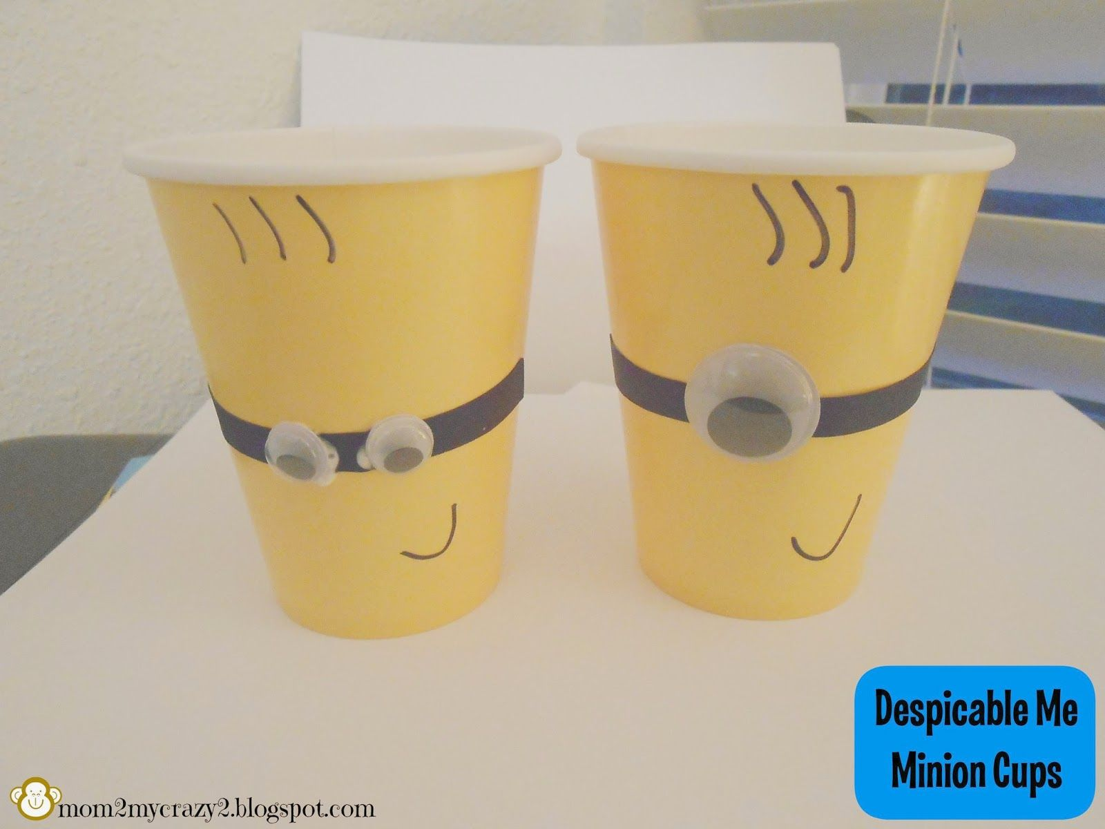 Despicable Me Birthday ... Minion Paper Cups
