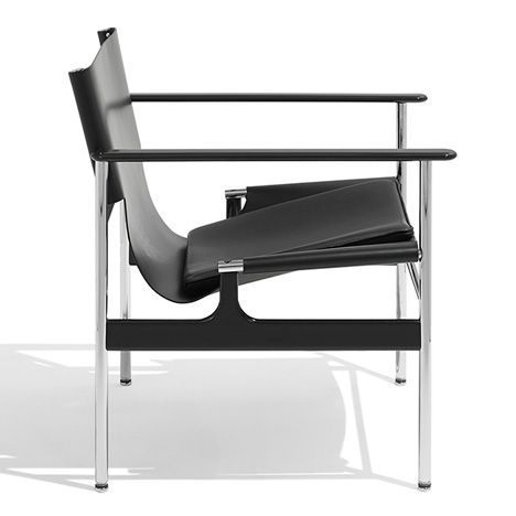 Knoll reissues armchair by late Charles Pollock.