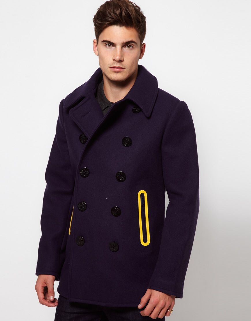G Star Marc Newson Pea Coat