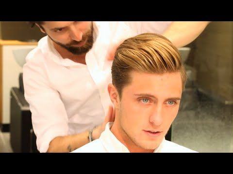 David Beckham Haircut Tutorial Mens Disconnected Undercut Haircut