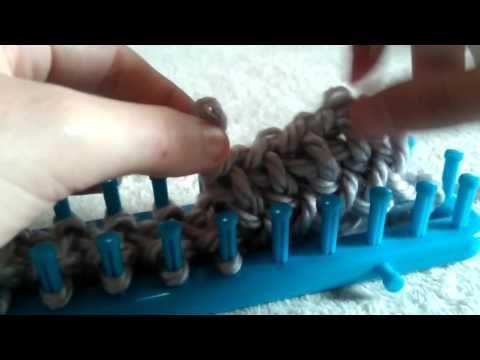 Tricotin fermer un projet - YouTube   Comment finir un tricot, Tricotin point, Tricottin