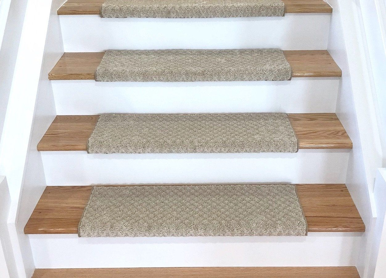 Best Diamond Natural Bullnose Carpet Stair Tread With Adhesive 400 x 300