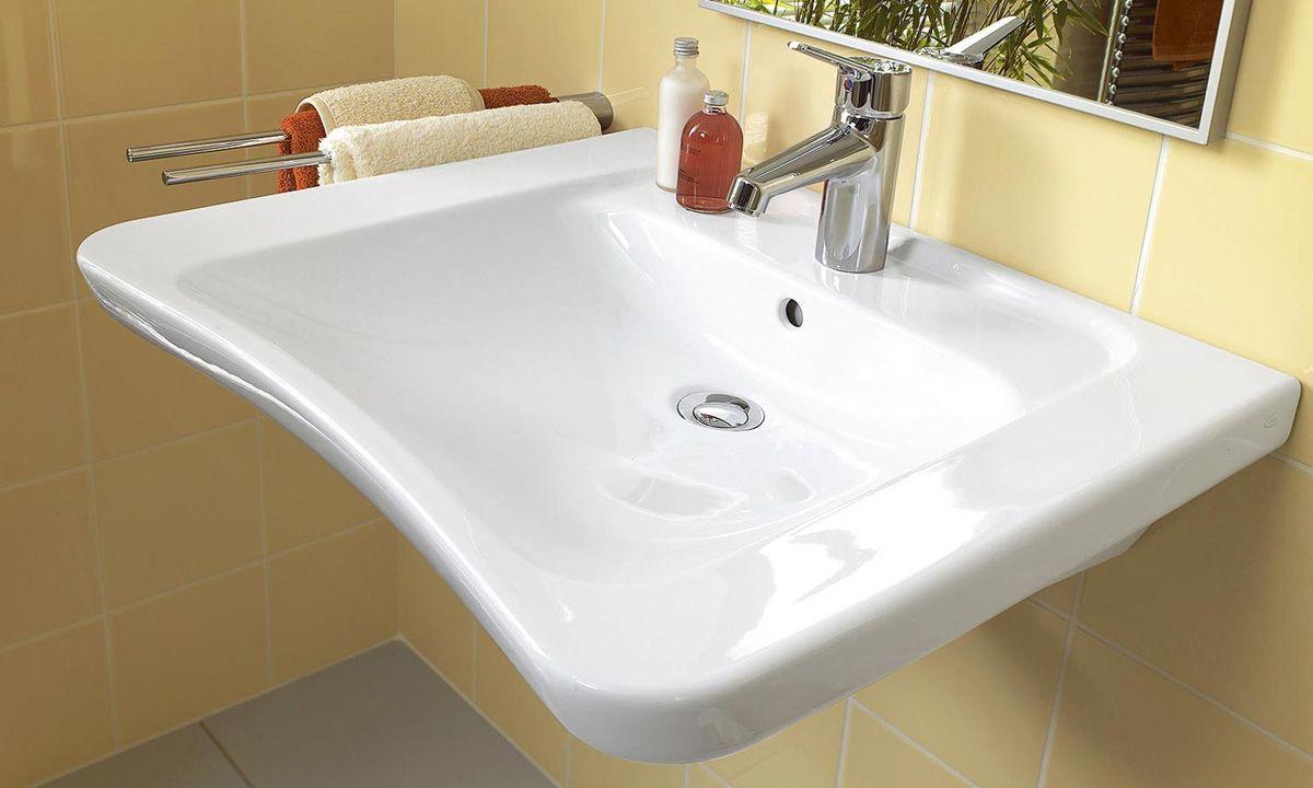 Lavabo Personne Mobilité Réduite lavabo architectura (pmr) - villeroy & boch | lavabo, salle
