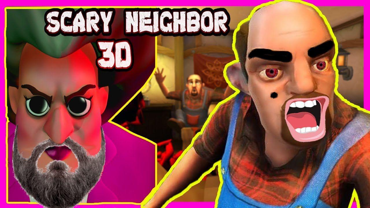 Deli Ogretmen Scary Teacherin Sevgilisi Neighbor Korkuttuk Erkek Arkadaslar Oyun Komik
