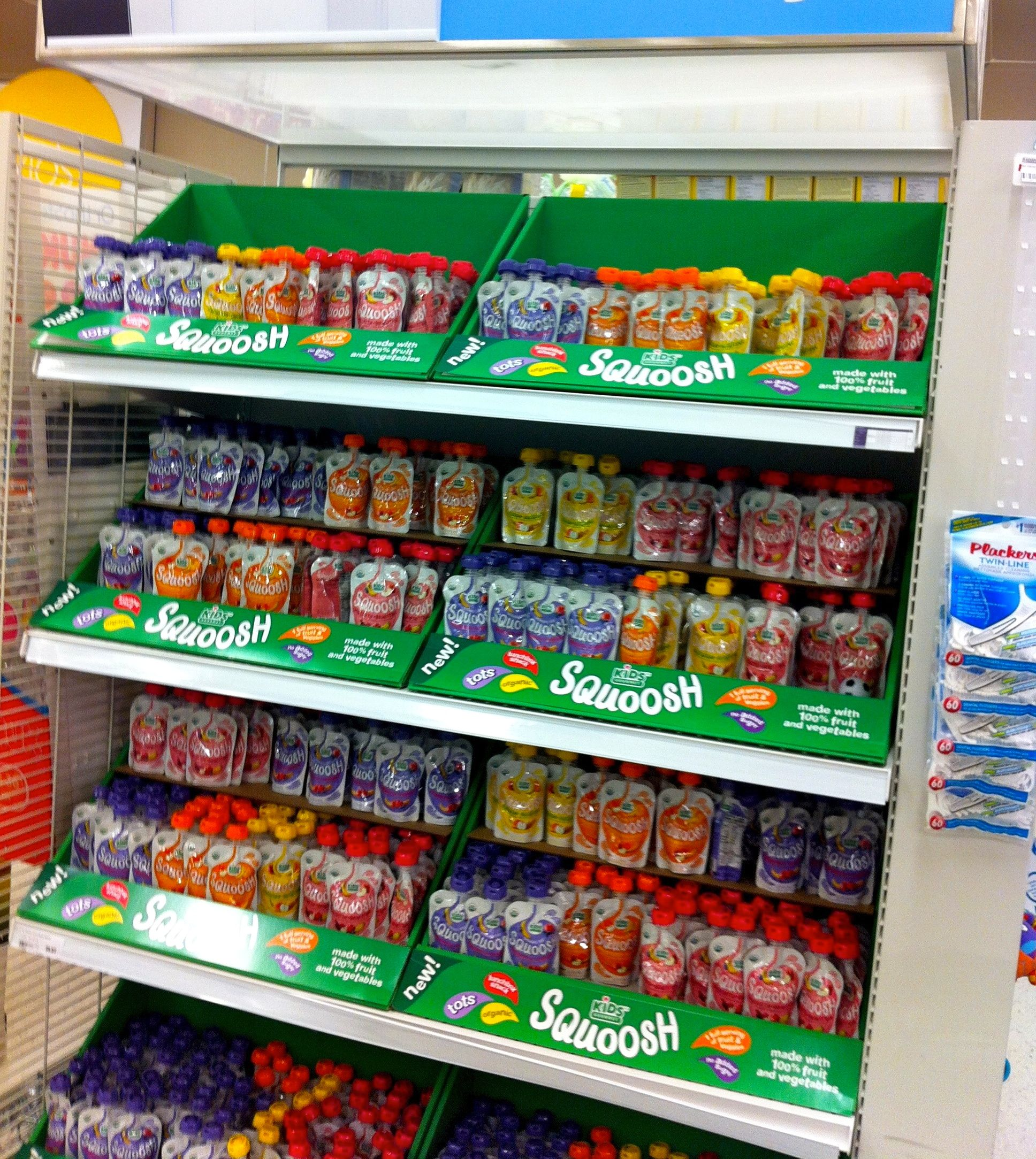 SPOTTED: Squoosh is now available in singles in Superstores across Canada!