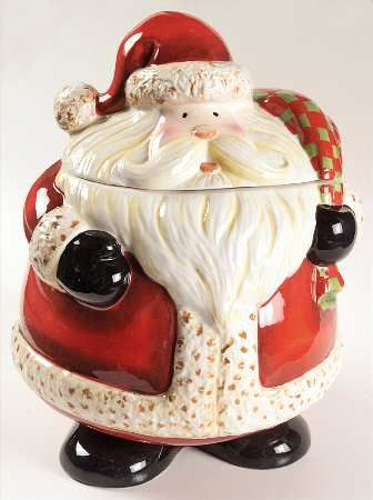 Cookie Jar Christmas Cookie Jars Cookie Jars Vintage Santa Cookie Jar