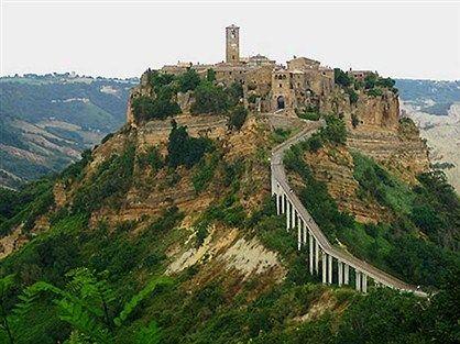 Civita Di Bagnoregio Italy Hill Top Town My Absolute Favorite