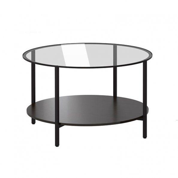 des tables basses rondes pour adoucir
