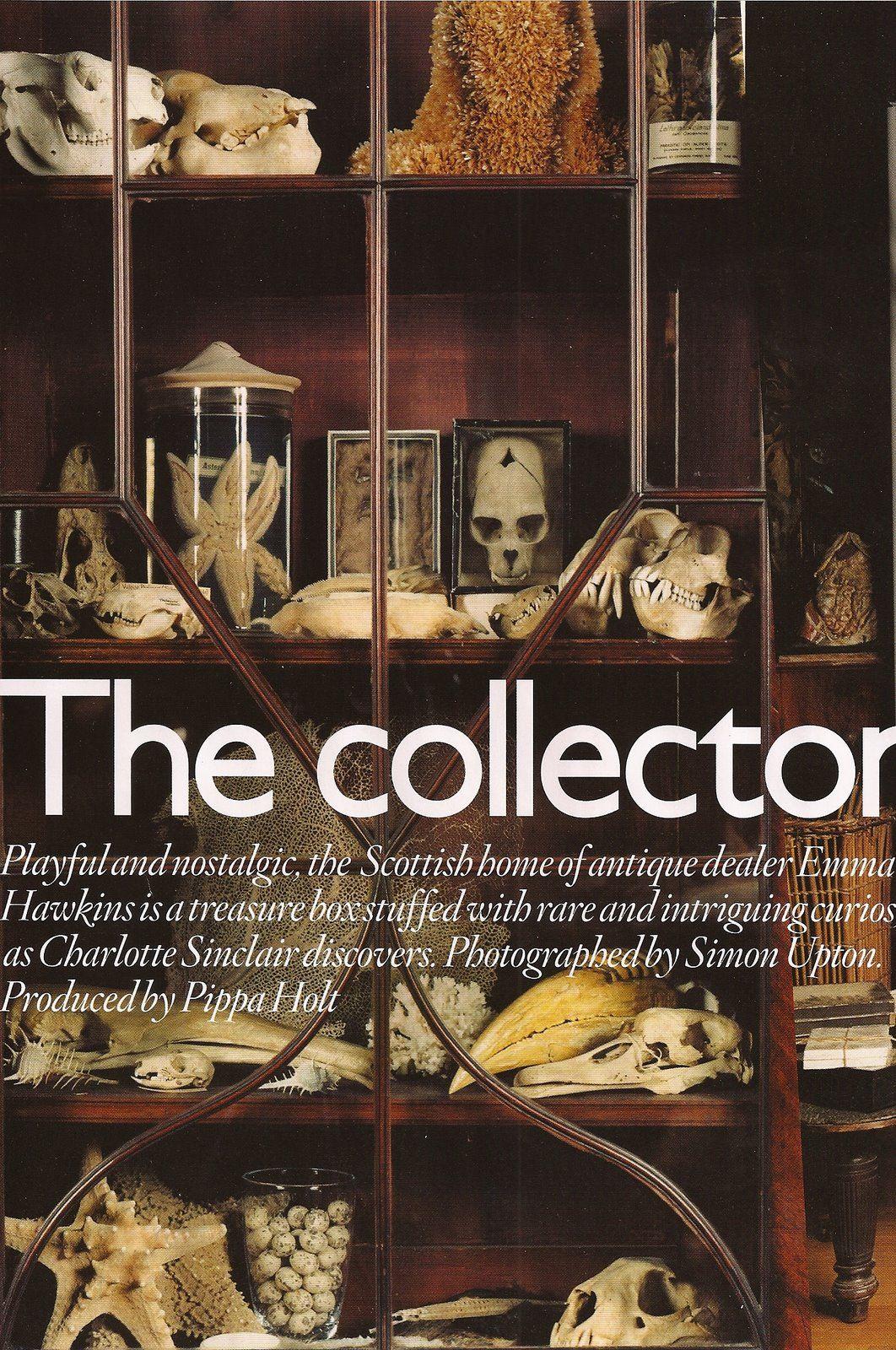 "Emma Hawkins ""The Collector"" Vogue 2009"