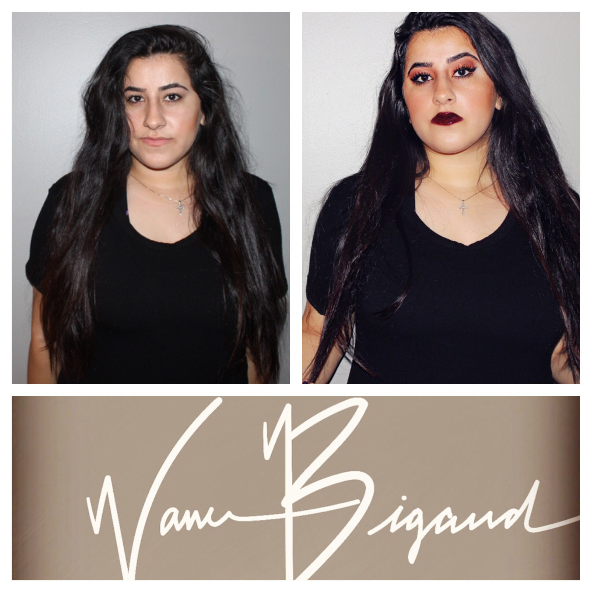 Makeup my Vanessa Bigaud. Check out my YouTube channel