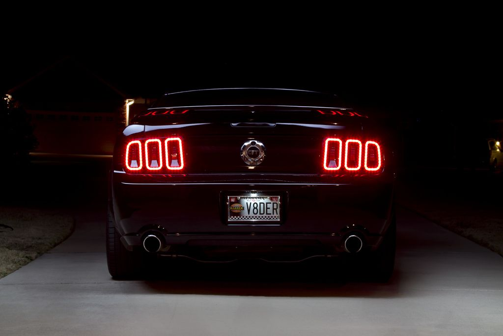 Image Result For 2008 Mustang Bullitt Gen 5 Tail Lights