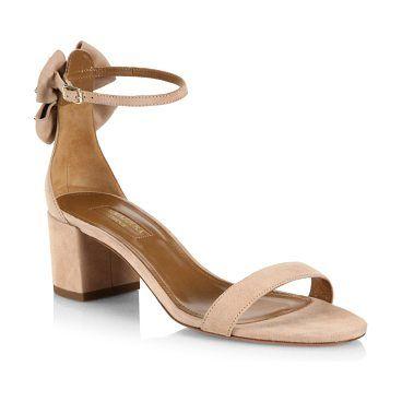 Womens Siena Suede Ankle-Strap Sandals Aquazzura 5YwooC