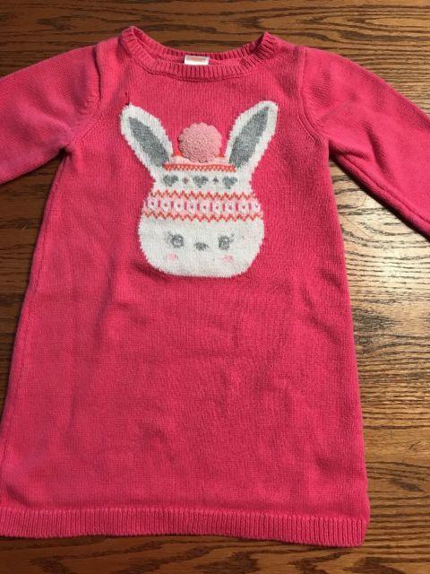 Gymboree Toddler Girls Size 3T Fair Isle Flurry, Bunny Sweater ...