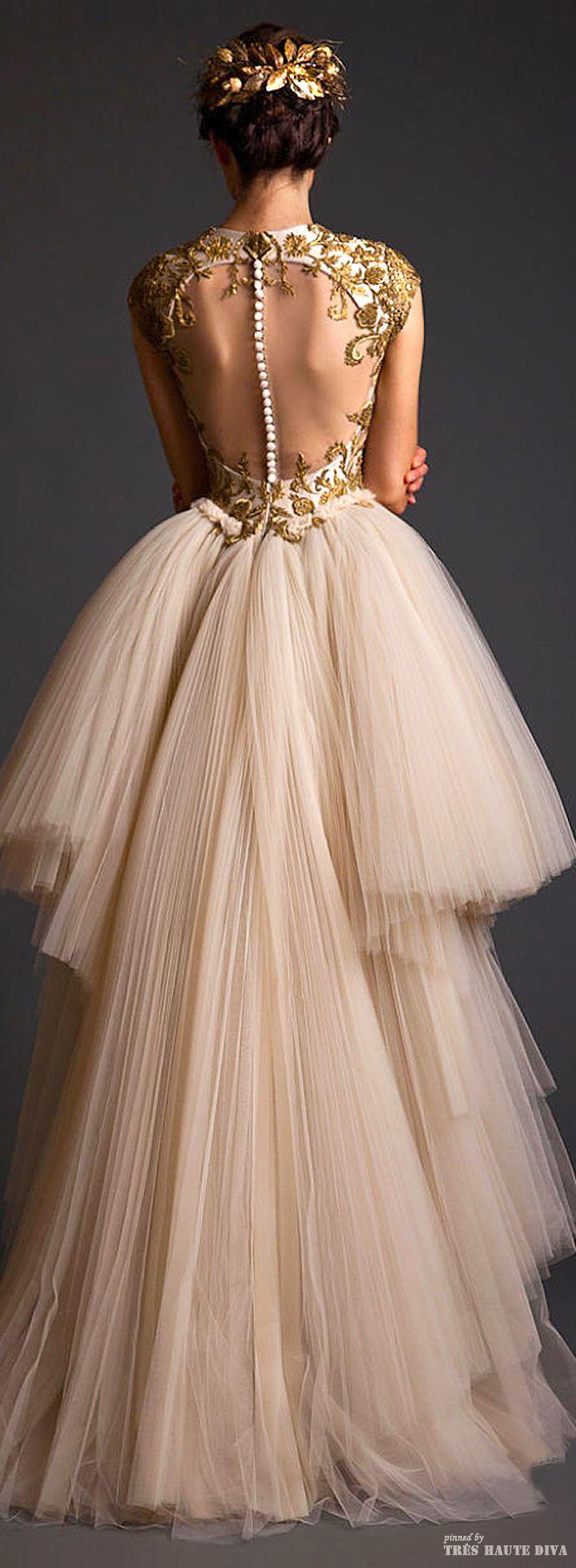Une vraie robe de conte de fée ! Krikor Jabotian Couture 2014