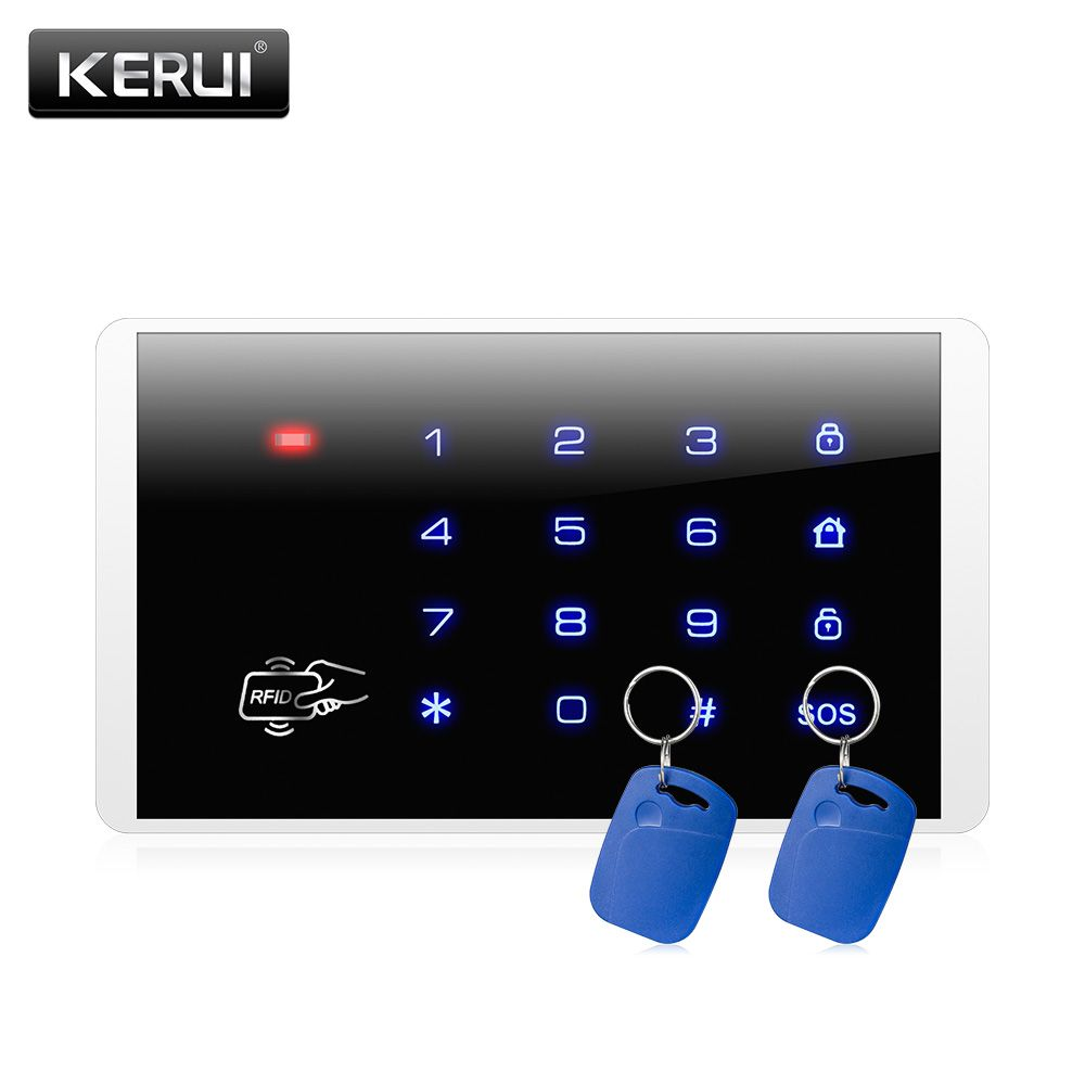 Price Tracker And History Of Wireless RFID Touch Keyboard For PSTN GSM Home  Personal House Alarm System Wireless Password Keypad System