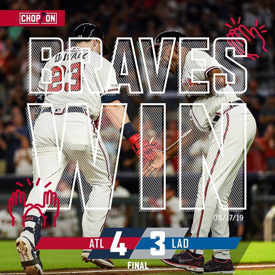 Atlanta Braves New Suntrustpark Attendance Record The Fans Are Going Home Happy Atlanta Braves Braves Going Home