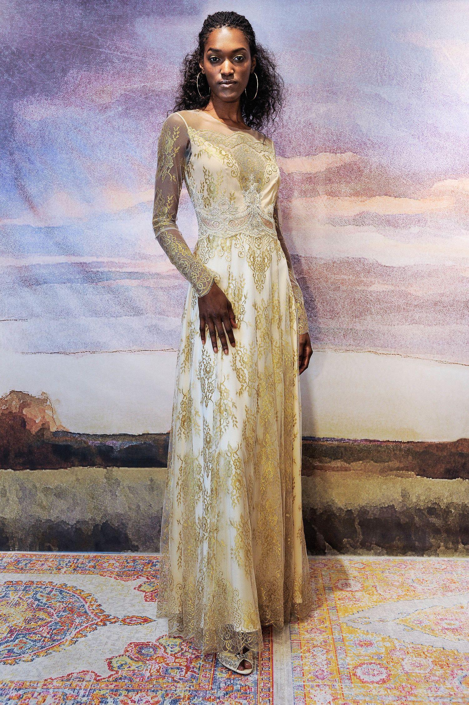 wedding dress trends from fall bridal fashion week wedding