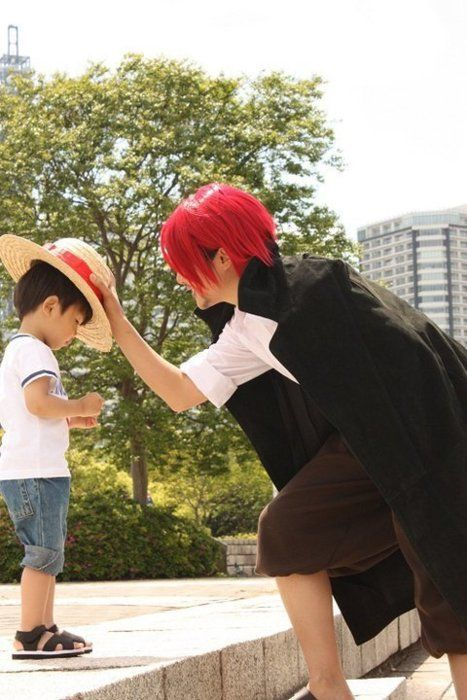 Best Shanks Luffy Cosplay Onepiece Cosplay Amazing Stories
