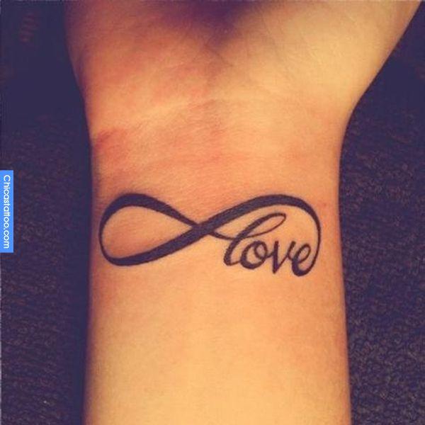 Love Amor Infinito Tatuaje Del Infinito Tatuajes Tatuaje Infinito
