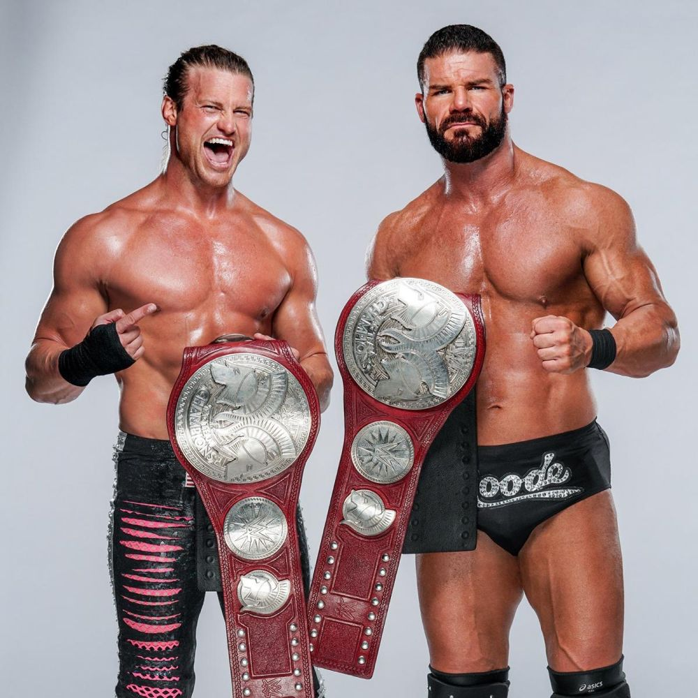 New Raw Tag Team Champion Dolph Ziggler Bobby Roode Wwe Tag Teams Champion Leicester City Football Club