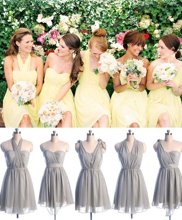 20 Mismatched Bridesmaid Dresses For Wedding 2015 Mismatched Bridesmaid Dresses Yellow Bridesmaid Dresses Short Bridesmaid Dresses