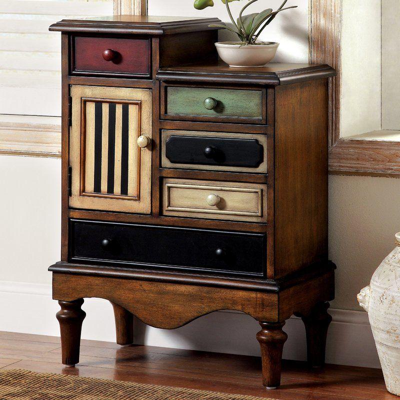 Mccay 1 Door Accent Cabinet Vintage Industrial Furniture Furniture Furniture Of America