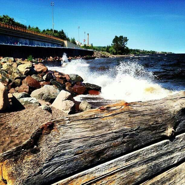 Lake Superior. Duluth MN