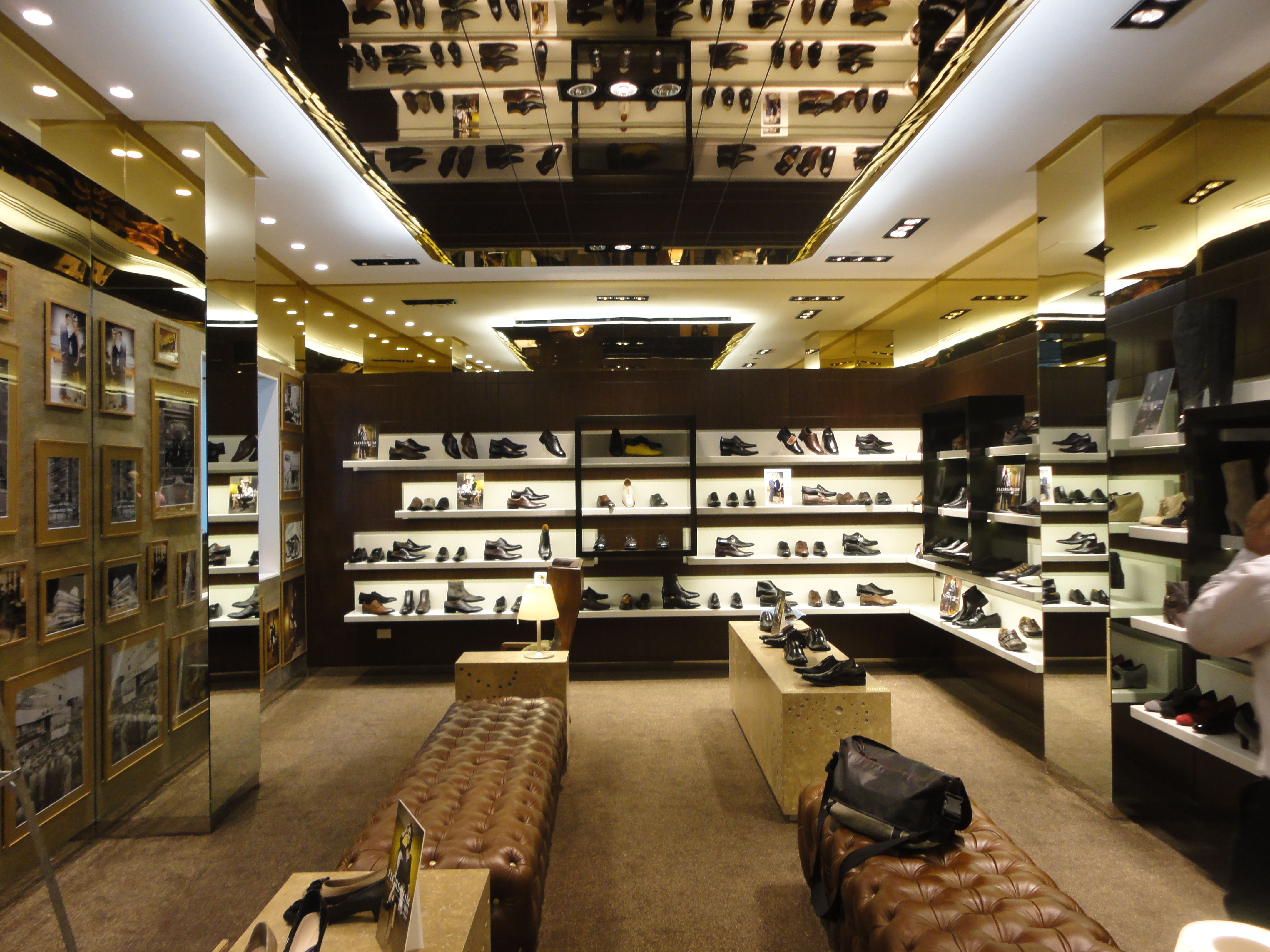 Inside the whole store! Prestige Joinery s work on Florsheim Westfields  Sydney! 844db6db4bba